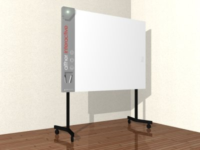 tableau blanc interactif sur roulettes interactive whiteboard on wheels. Black Bedroom Furniture Sets. Home Design Ideas
