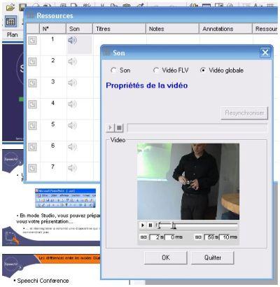 Postsynchronisation video Powerpoint