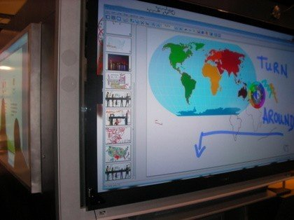 Tableau Interactif sur écran LCD: prototype eBeam
