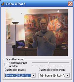 Réglages vidéo dans Speechi