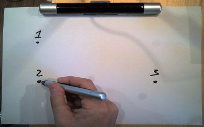 Calibration du Speechi Pen