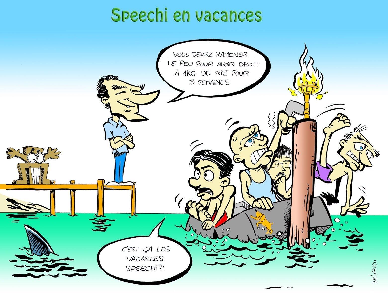 Les vacances de SPEECHI