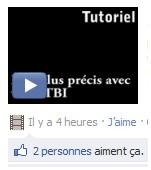 Icône Facebook / Alexandra