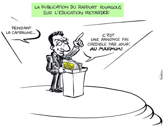 rapport fourgous retard 2012