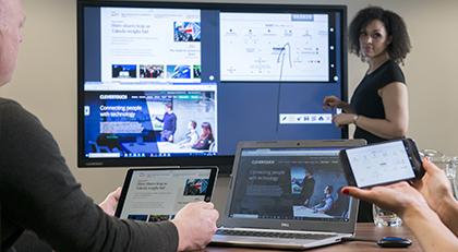 ecran interactif clevertouch compatible tous appareils