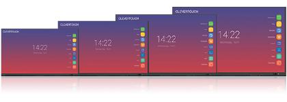 taille des écrans interactifs
