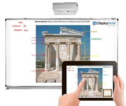 interactieve software Display Note