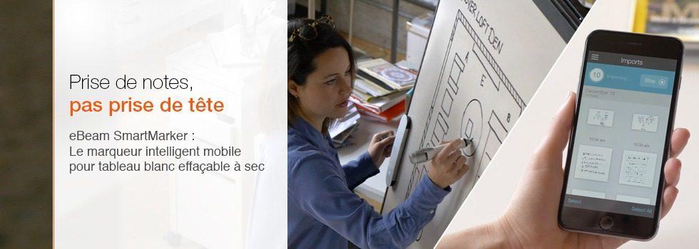 smartmarker tableau blanc intelligent mobile