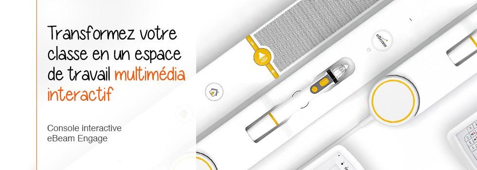 Un tableau interactif multimédia
