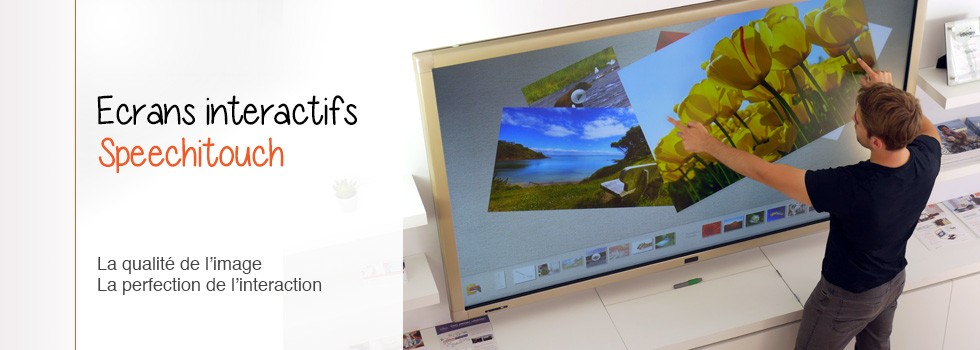 Ecrans interactifs SpeechiTouch