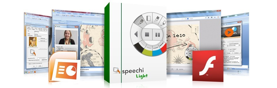 Speechi Light - Powerpoint en Flash et HTML5