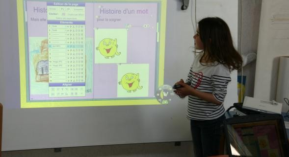 Ecole Maternelle tableau interactif