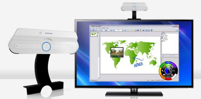 Support LCD eBeam pour écran interactif
