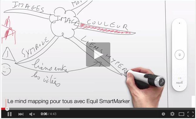 Smart Marker Equil - paperboard numérique