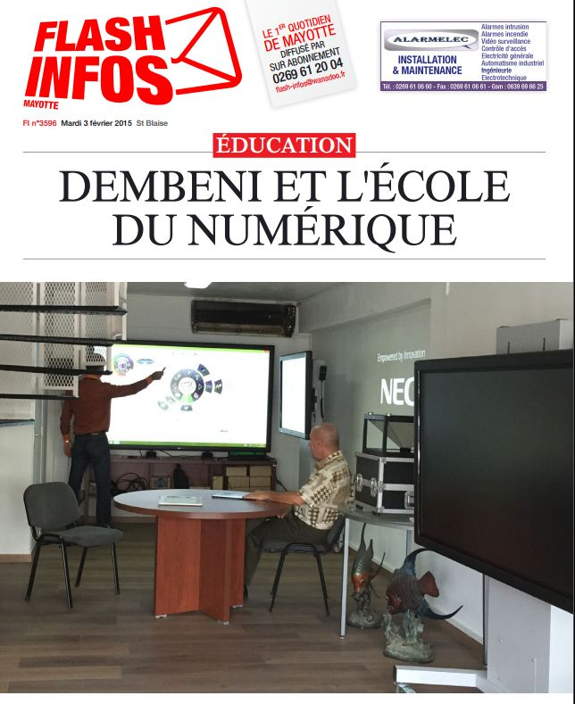Ecrans Interactifs Mayotte