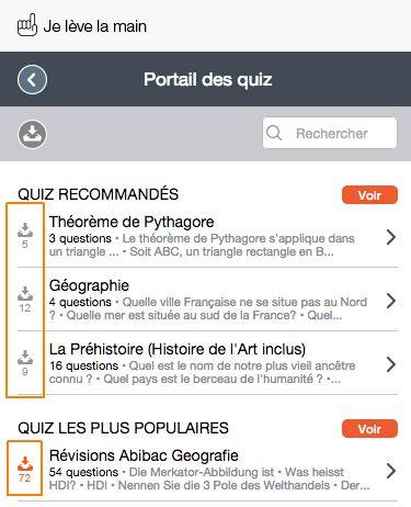 Quiz recommandés