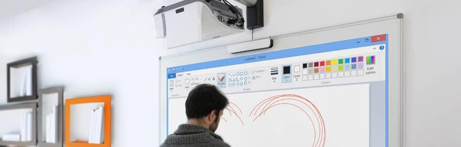 interactive videoprojection - vidéoprojecteur interactif