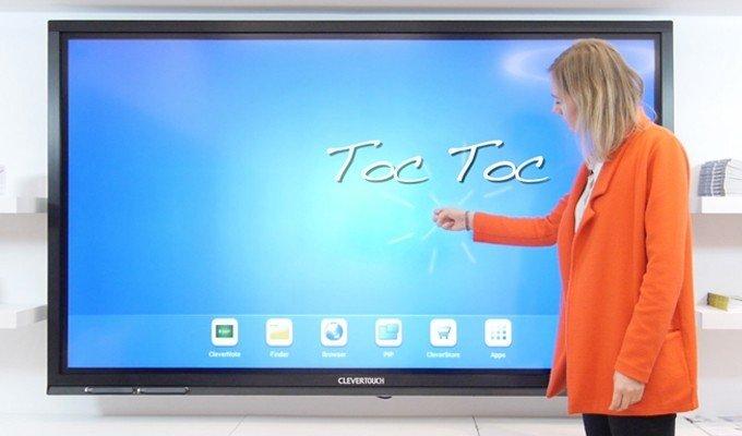 ecran interactif tactile mural numerique speechi. Black Bedroom Furniture Sets. Home Design Ideas