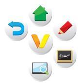 palette outils pour écran tactile
