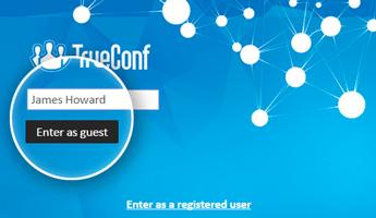 trueconf webinar visioconférence public