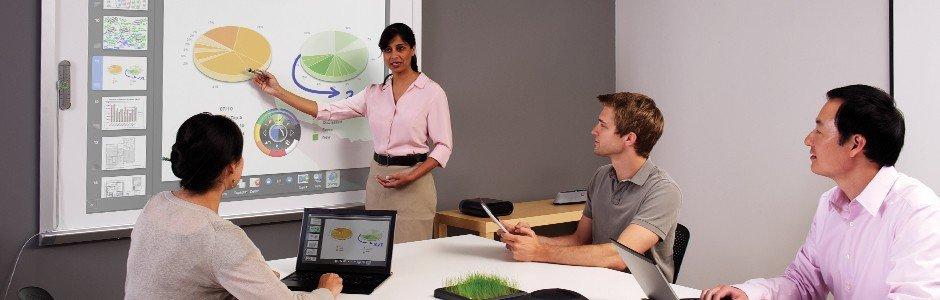 tableau interactif eBeam en entreprise