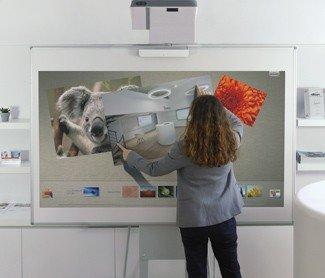 videoprojecteur interactif tactile, pour les grandes salles
