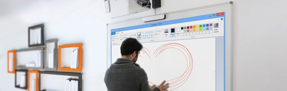 vidéoprojecteur interactif : avec 10 points de touch