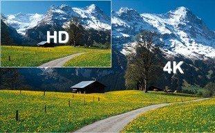écran tactile 4k