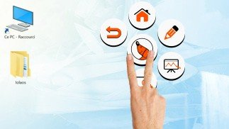 palette logiciel écran interactif