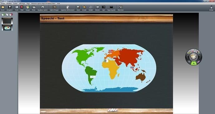 ebeam scrapbook page principale diapositive