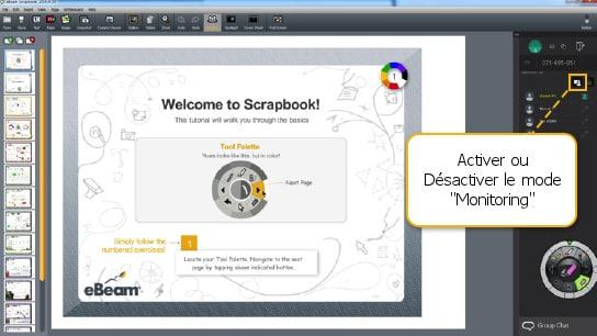 activer-desactiver-monitoring-mode-scrapbook