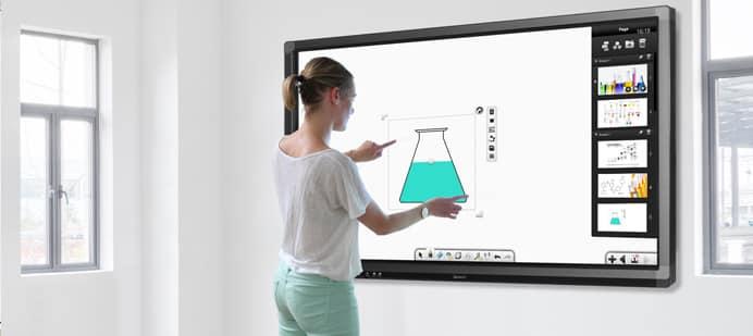 quel est le prix d 39 un cran interactif. Black Bedroom Furniture Sets. Home Design Ideas