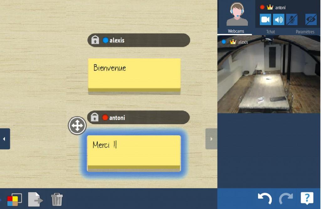 le travail collaboratif sur écran interactif