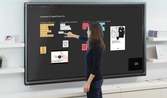 ecran interactif draft