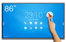 SpeechiTouch 86″ giant touchscreen – UHD interactive screen