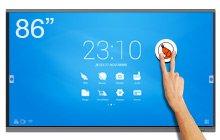 Ecran tactile géant SpeechiTouch 86″ – L'écran interactif UHD
