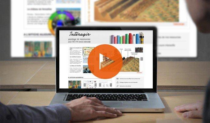 site de ressource pour tableau blanc interactif