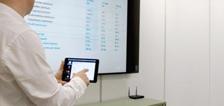 we-present data sharing in meetings