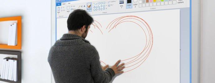 vidéoprojecteur-interactif-tactile