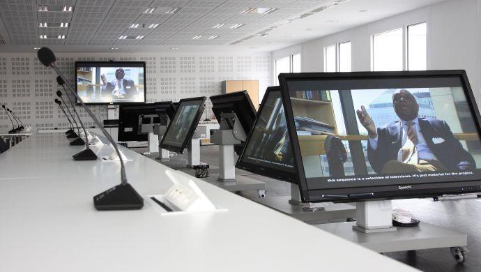 Ecran interactif (conseil d'administration)