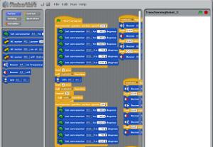 lignes de programmation avec Scratch