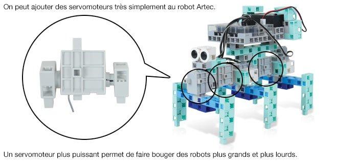 Servomoteur robot éducatif