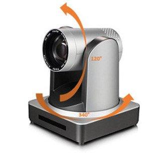 Inclinaison et rotation de la Caméra full HD Speechi pour visioconférence
