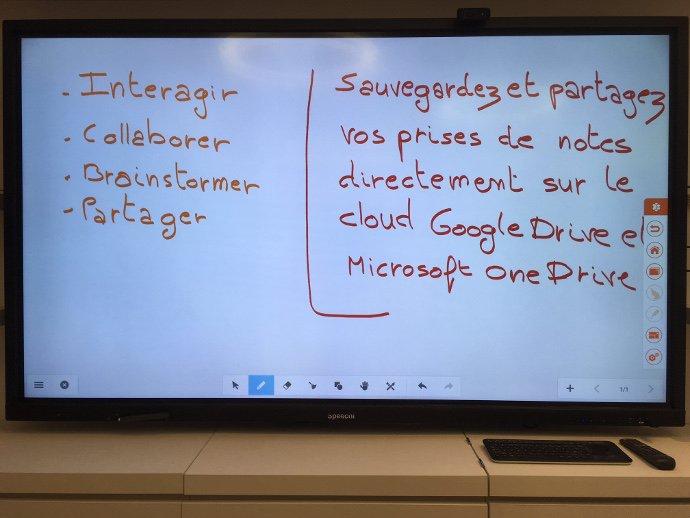 Note sur les écrans interactifs tactiles SpeechiTouch