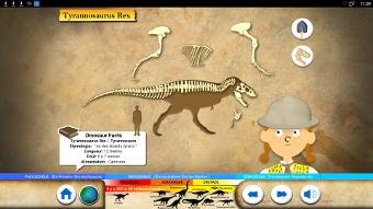 Reconstituez un squelette sur des écrans interactifs