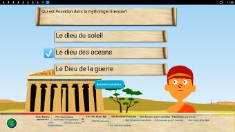 Teste tes connaissances sur l'histoire sur des écrans interactifs