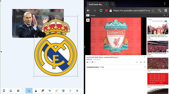 les écrans interactifs font du sport