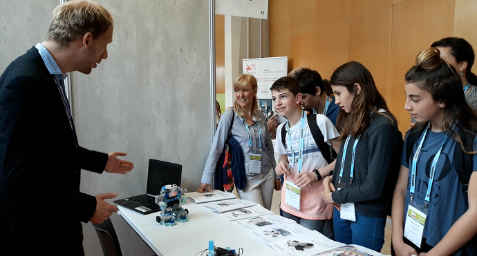 les robots programmables speechi aux rencontres de l'orme