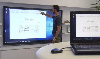 Transmetteur sans fil Speechi pour écrans interactifs et tactiles