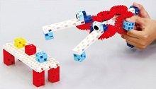 un robot éducatif rigolo